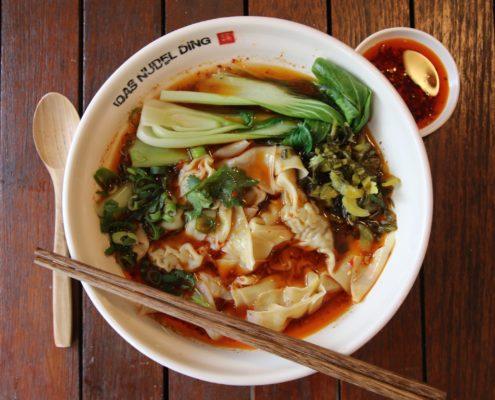 Das Nudel Ding - 61 - Wantan-Suppe mit Schweinefleisch